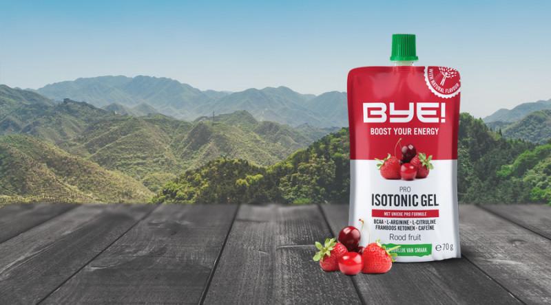 BYE! Pro Isotonic Gel - BYE Naturalne Odżywki